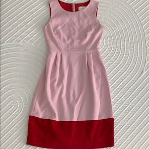 Kate Spade pink and red dress. Size 0